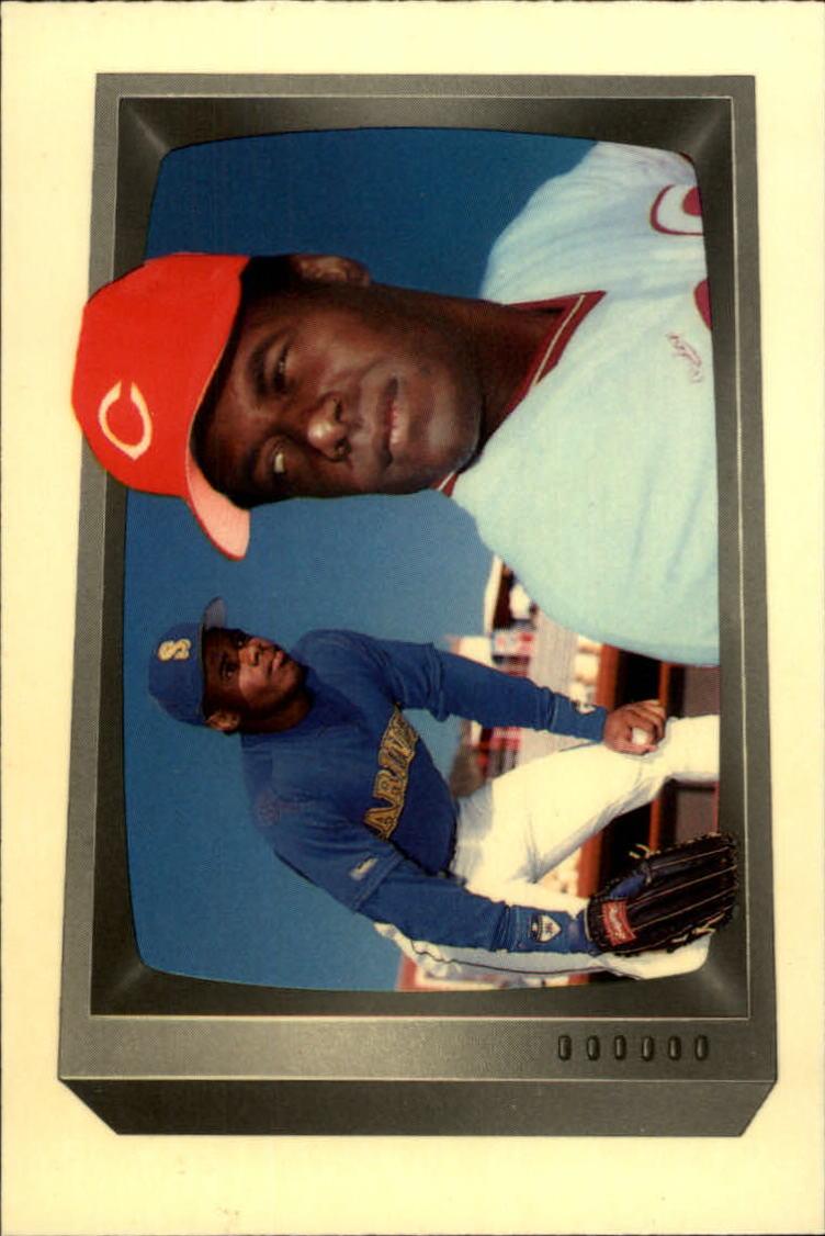 1989 Bowman Tiffany #259 Ken Griffey Sr./Jr.