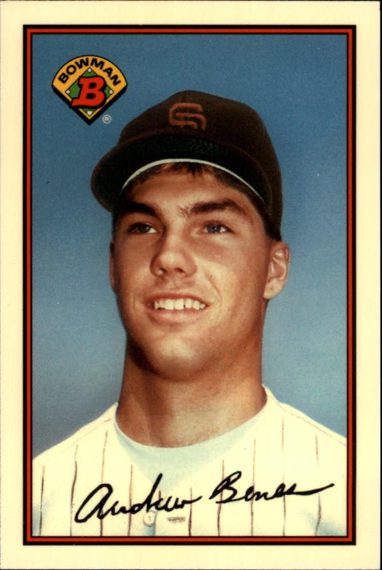 1989 Bowman Tiffany #448 Andy Benes