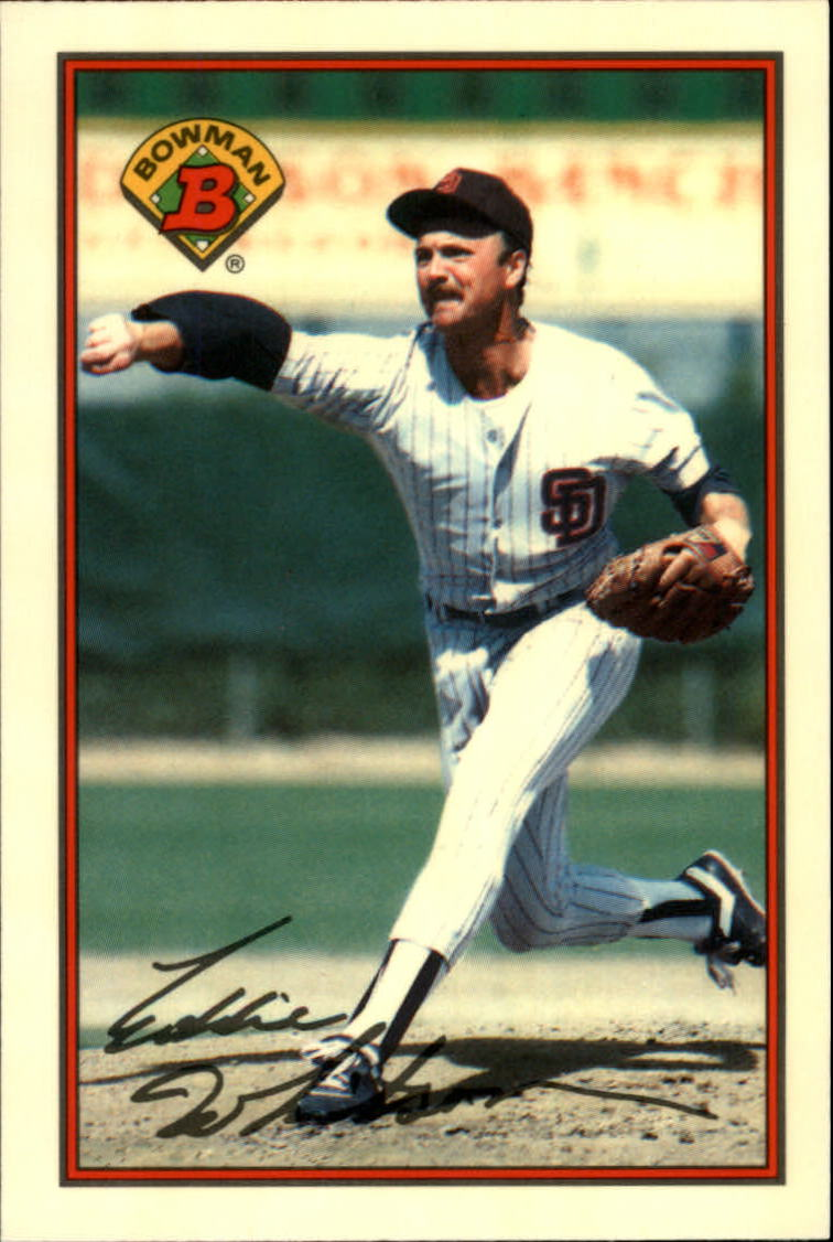 1989 Bowman Tiffany #449 Ed Whitson