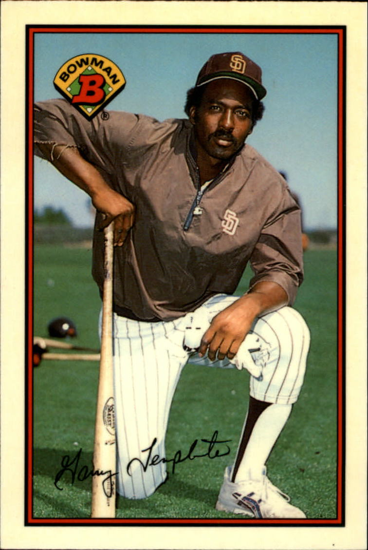 1989 Bowman Tiffany #455 Garry Templeton