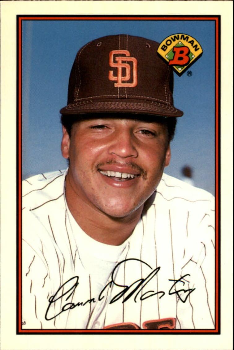 1989 Bowman Tiffany #459 Carmelo Martinez