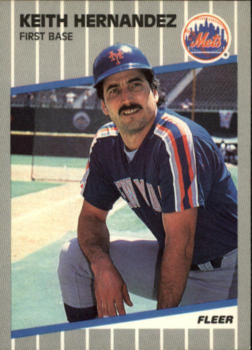 1989 Fleer #37 Keith Hernandez