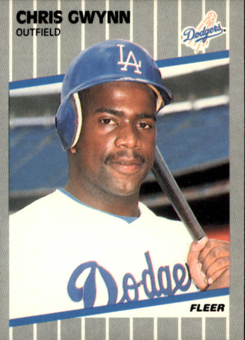 1989 Fleer #59 Chris Gwynn