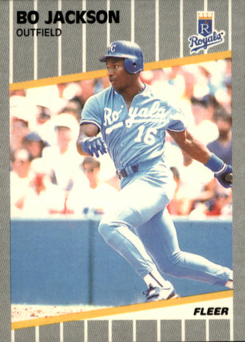 Details About 1989 Fleer Baseball Card 285 Bo Jackson