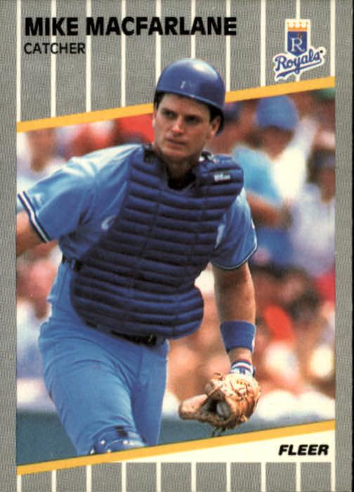 1989 Fleer #287 Mike Macfarlane RC