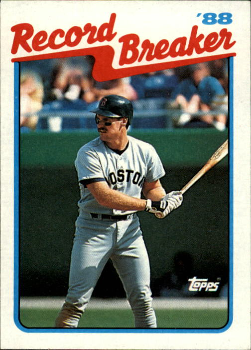 1989 Topps #2 Wade Boggs RB