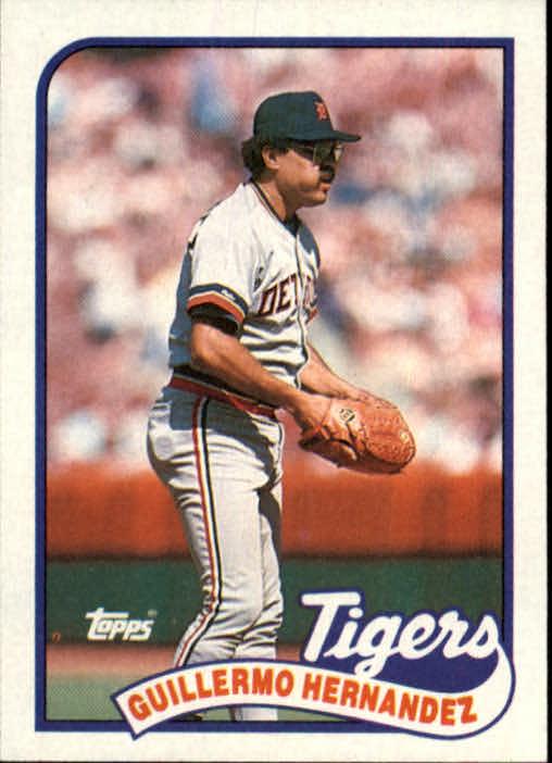 1989 Topps #43 Guillermo Hernandez