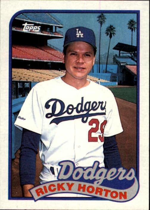1989 Topps #232 Ricky Horton