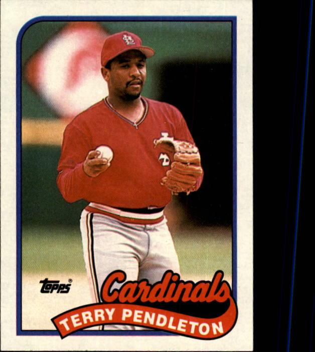 1989 Topps #375 Terry Pendleton