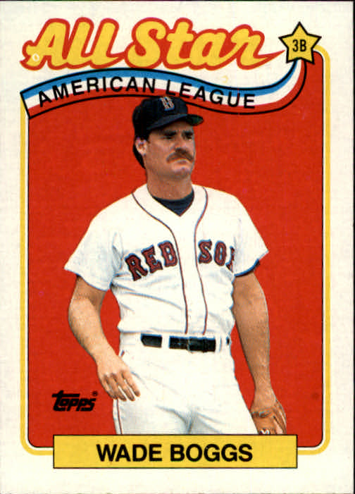 1989 Topps #399 Wade Boggs AS