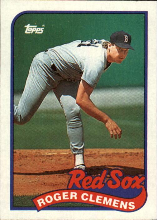 1989 Topps #450 Roger Clemens