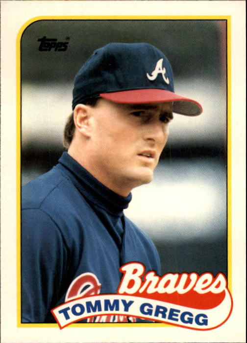 1989 Topps Traded #39T Tommy Gregg