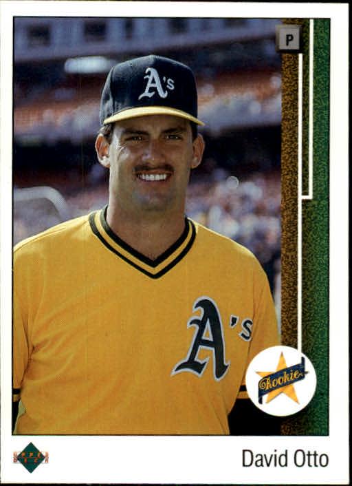 1989 Upper Deck #4 Dave Otto
