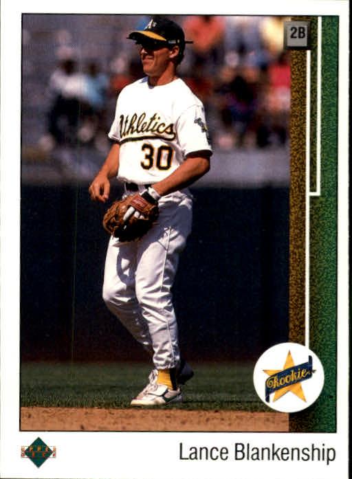 1989 Upper Deck #15 Lance Blankenship RC