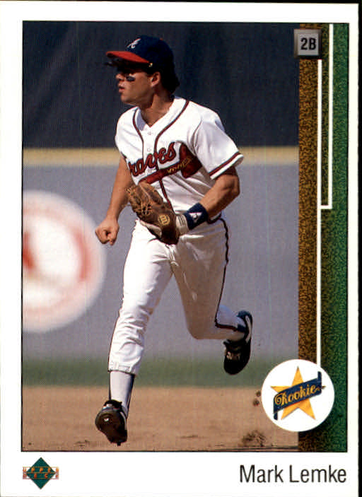 1989 Upper Deck #19 Mark Lemke RC