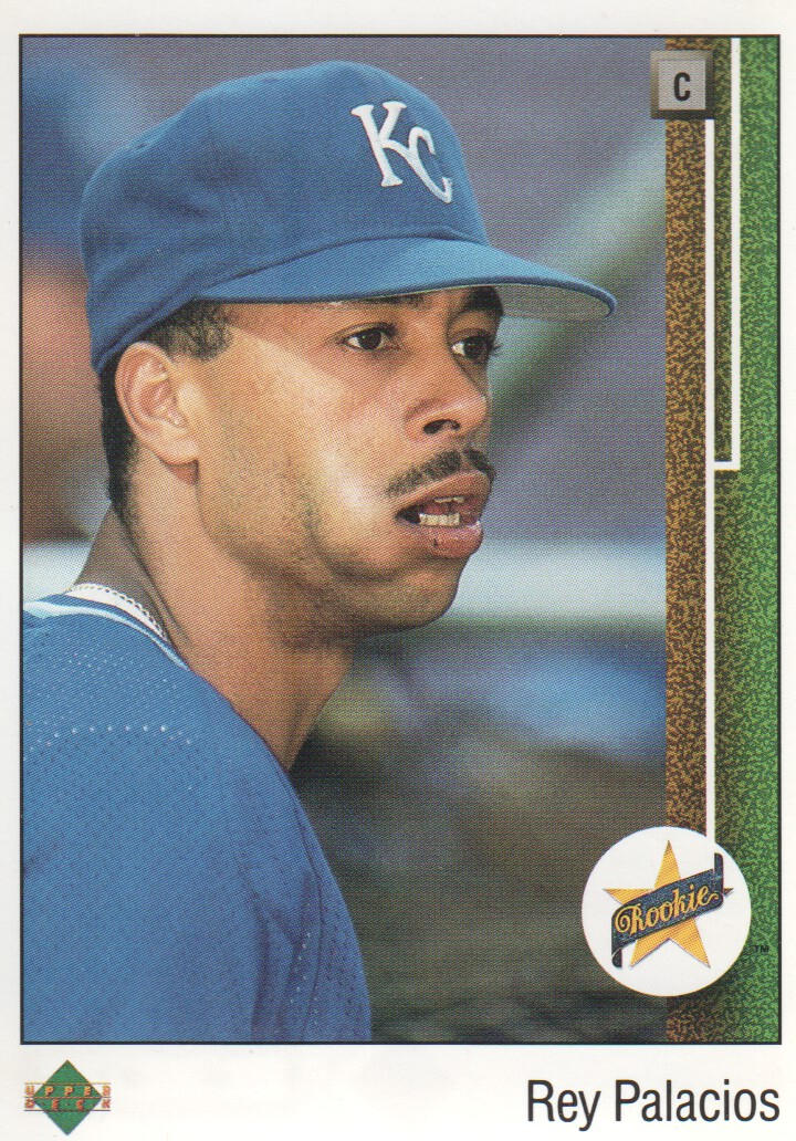 1989 Upper Deck #21 Rey Palacios RC