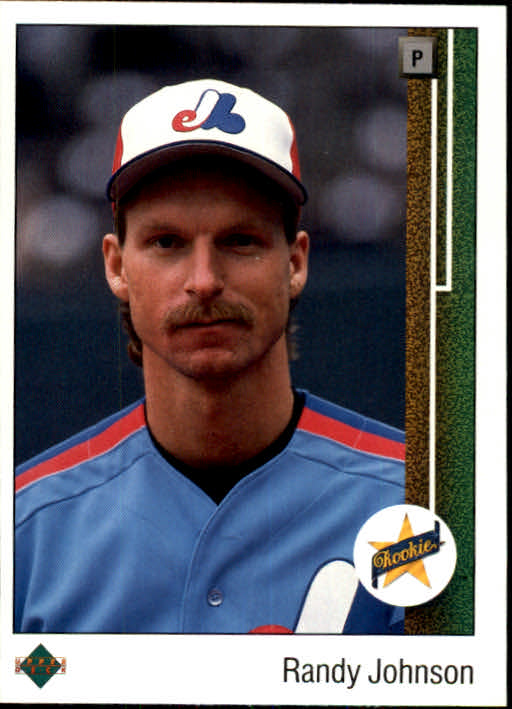 1989 Upper Deck #25 Randy Johnson RC