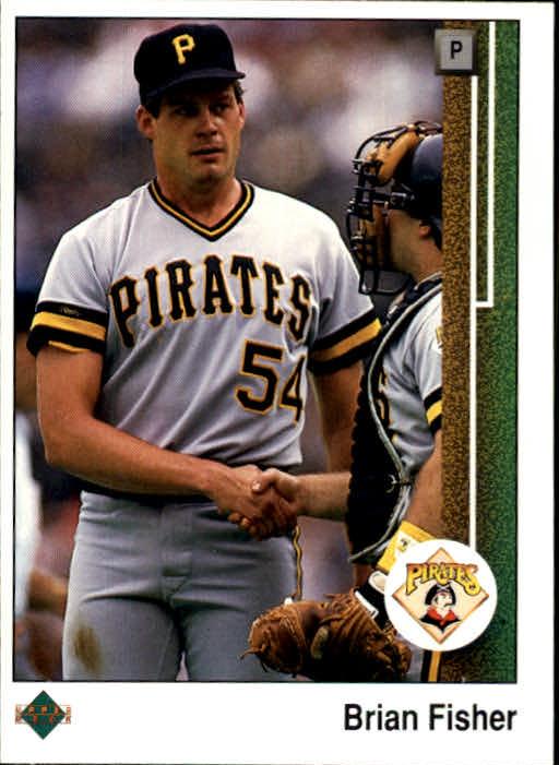 1989 Upper Deck #69 Brian Fisher
