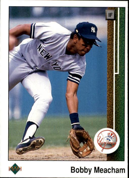 1989 Upper Deck #77 Bobby Meacham