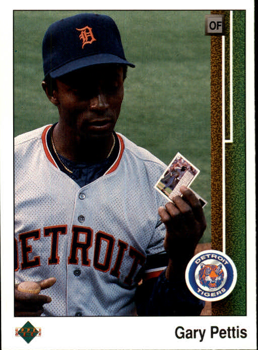 Details About 1989 Upper Deck Baseball Card 117 Gary Pettis
