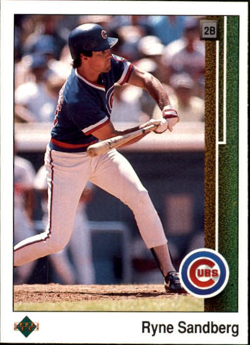1989 Upper Deck #120 Ryne Sandberg