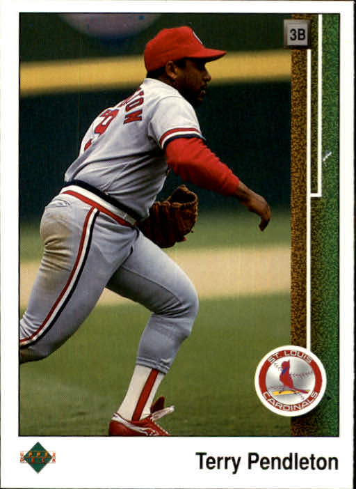 1989 Upper Deck #131 Terry Pendleton