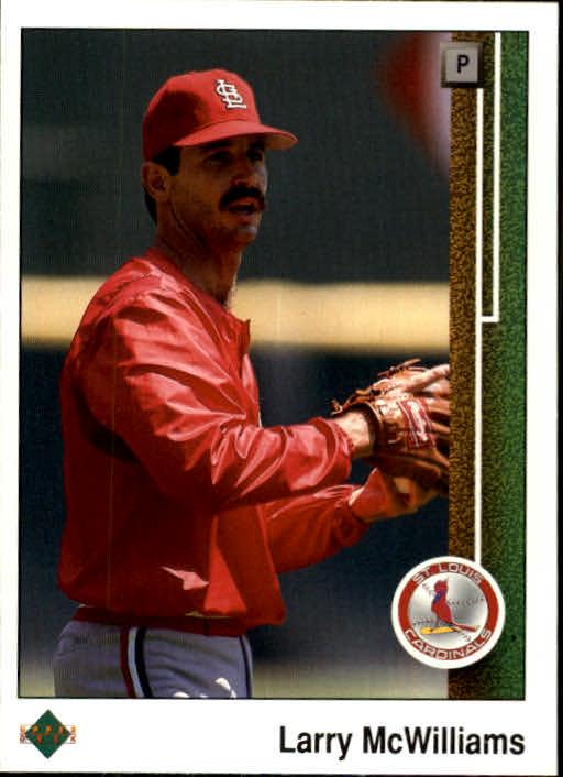 1989 Upper Deck #143 Larry McWilliams