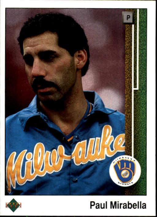 1989 Upper Deck #322 Paul Mirabella