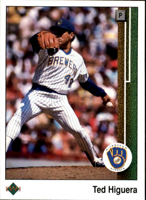 1989 Upper Deck #424 Ted Higuera