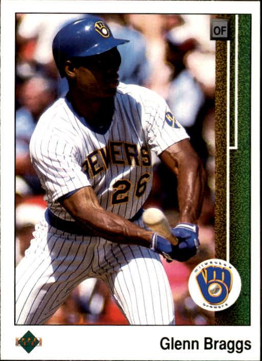1989 Upper Deck #504 Glenn Braggs