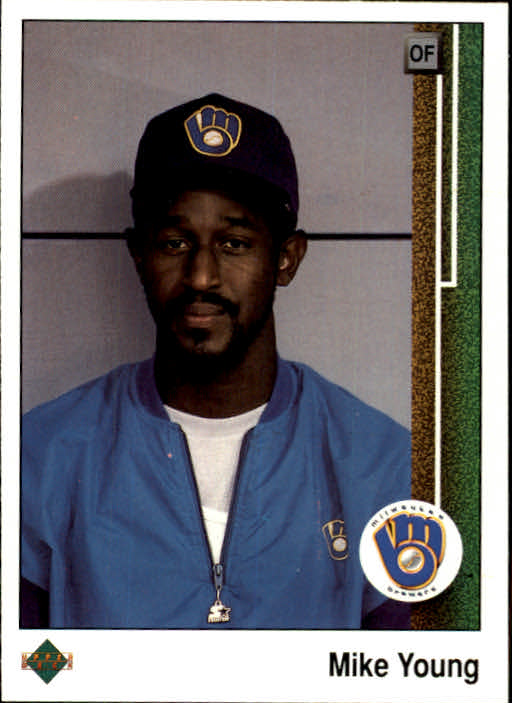 1989 Upper Deck #649 Mike Young