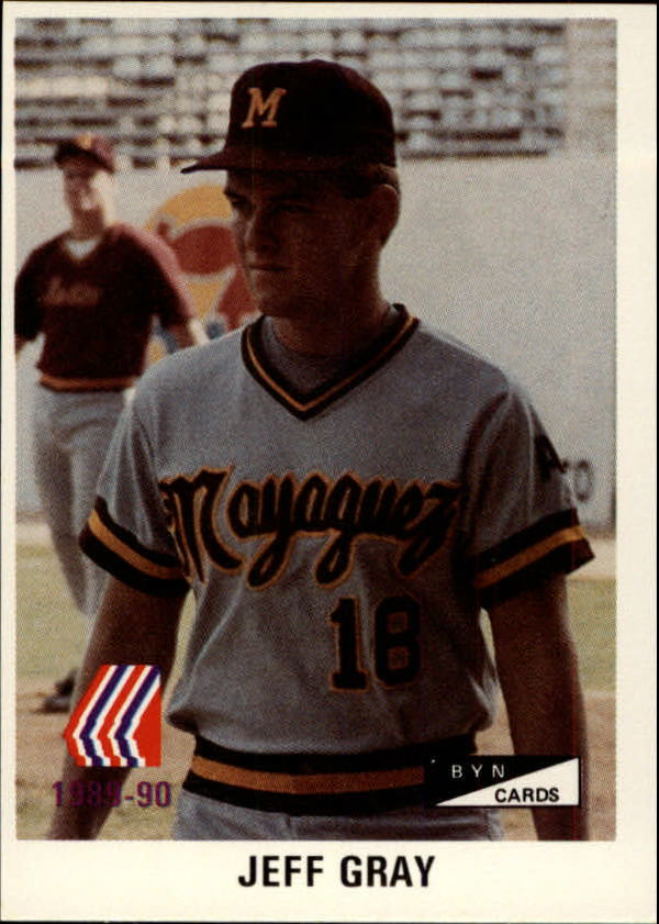 1989-90 BYN Puerto Rico Winter League #91 Jeff Gray