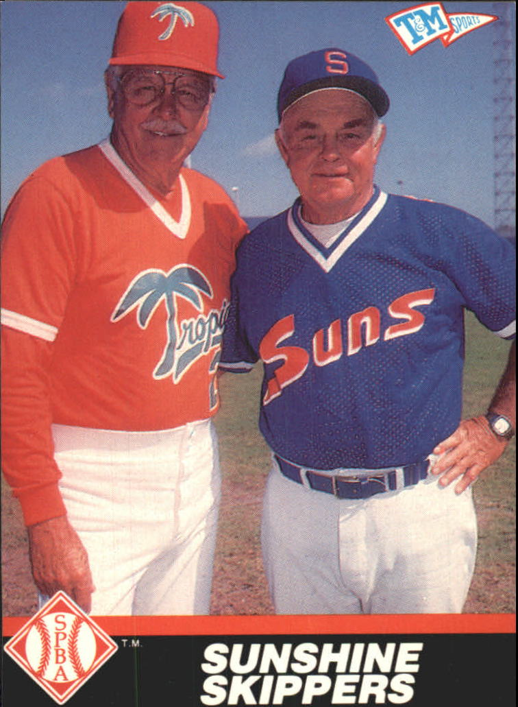 1989-90 T/M Senior League #120 Sunshine Skippers/Earl Weaver/Dick Williams