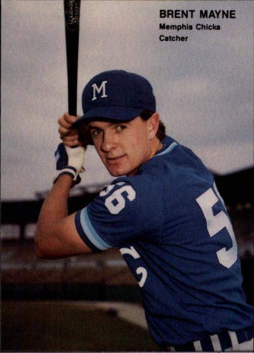 1990 Best #8 Brent Mayne