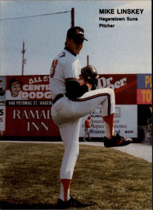 1990 Best #21 Mike Linskey