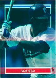 1990 Hottest 50 Rookies Stickers #43 Sammy Sosa