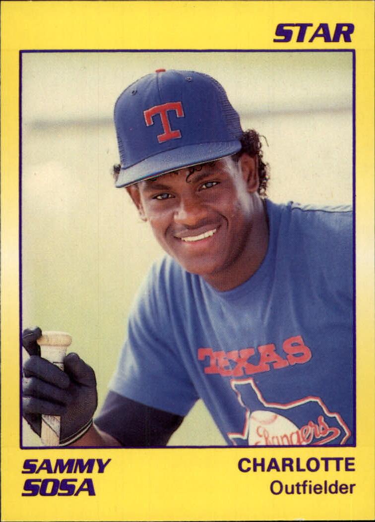 1990 Star #61 Sammy Sosa