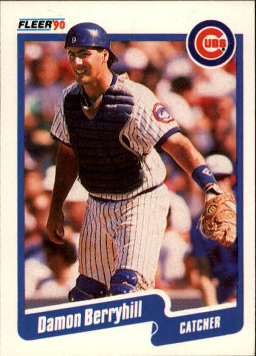 1990 Fleer #26 Damon Berryhill
