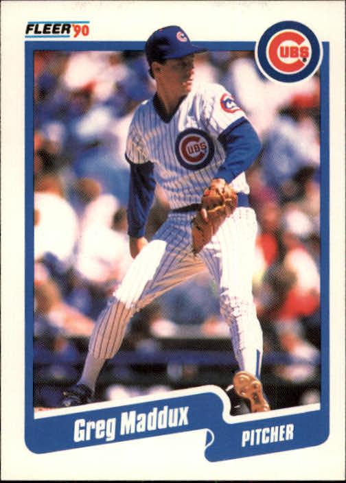 1990 Fleer #37 Greg Maddux