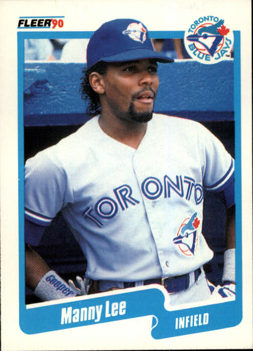 1990 Fleer #86 Manny Lee