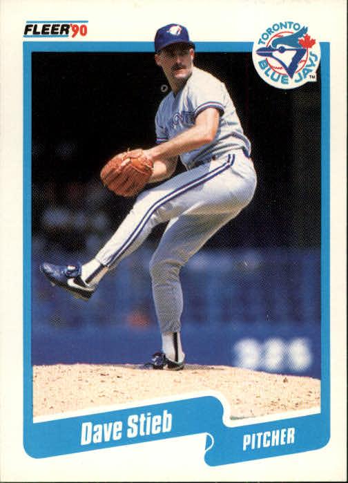 1990 Fleer #93 Dave Stieb