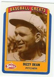 1990 Swell Baseball Greats #6 Dizzy Dean