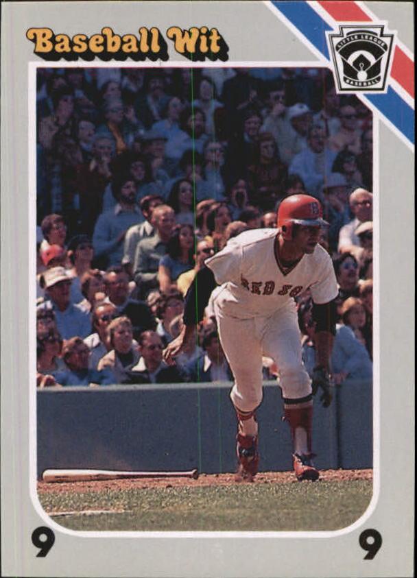 1990 Baseball Wit #34 Carl Yastrzemski