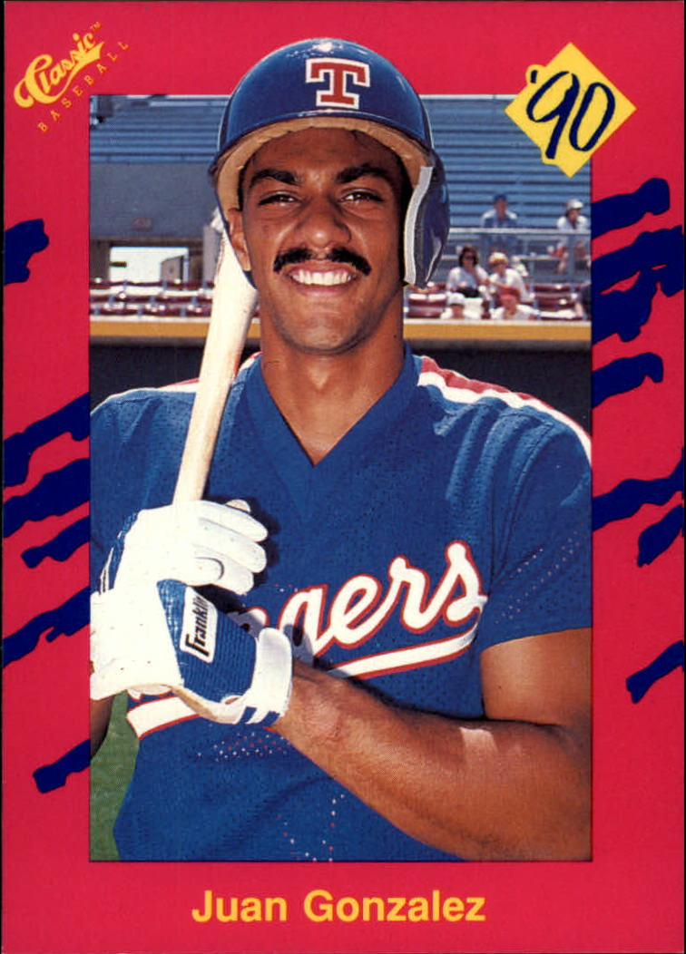 1990 Classic Update #T21 Juan Gonzalez