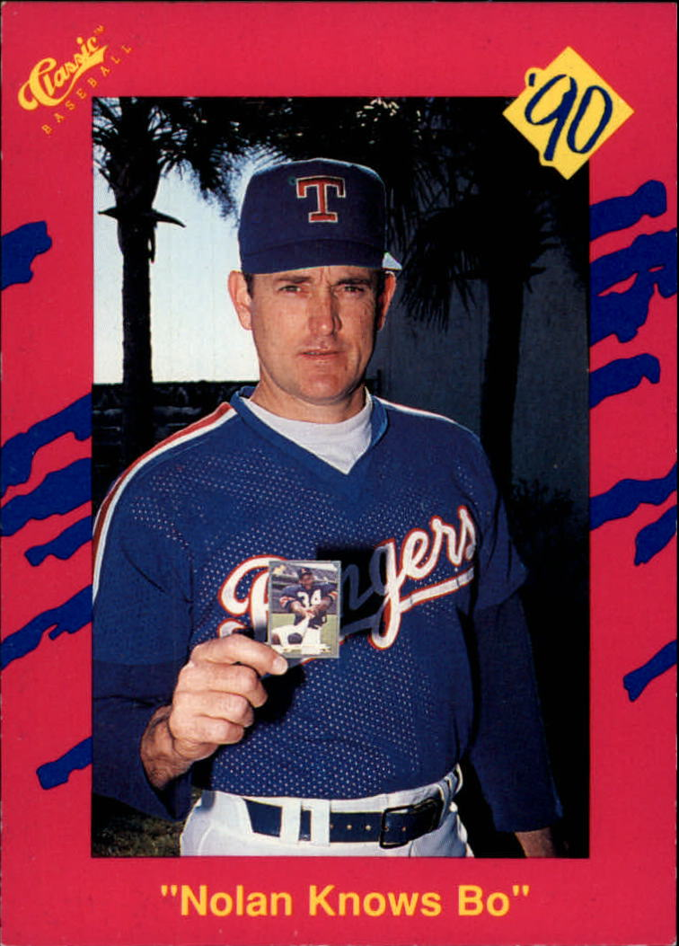 1990 Classic Update Béisbol Tarjeta T26 Nolan Ryannolan