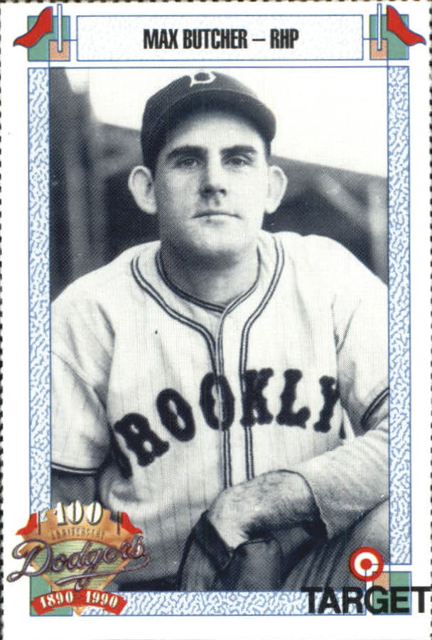 1990 Dodgers Target #96 Max Butcher