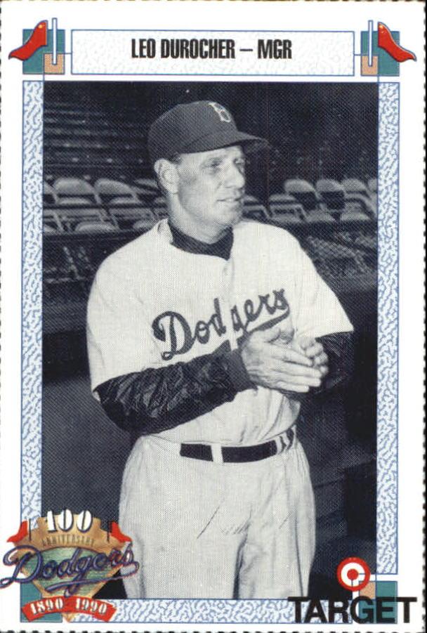 1990 Dodgers Target #208 Leo Durocher