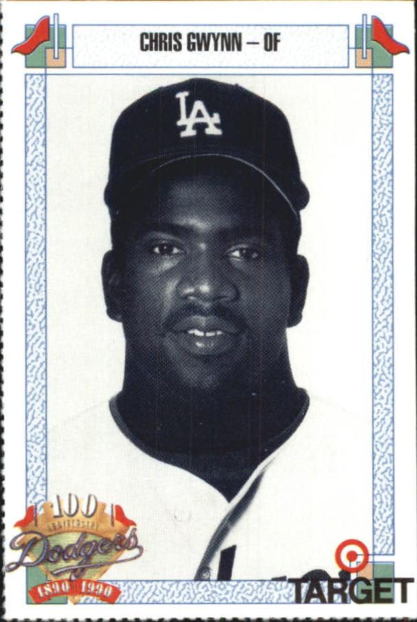 1990 Dodgers Target #307 Chris Gwynn