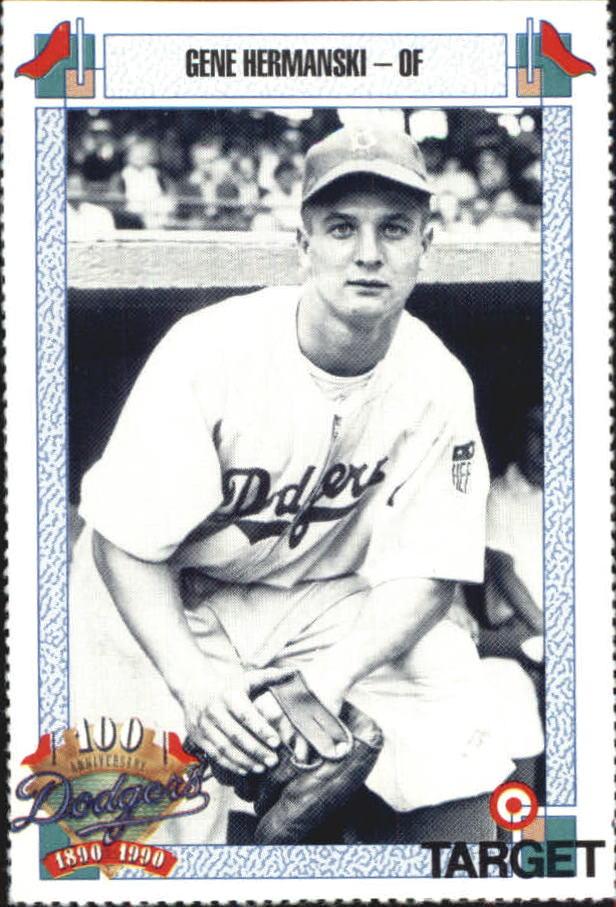 1990 Dodgers Target #338 Gene Hermanski