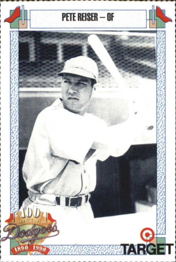 1990 Dodgers Target #656 Pete Reiser